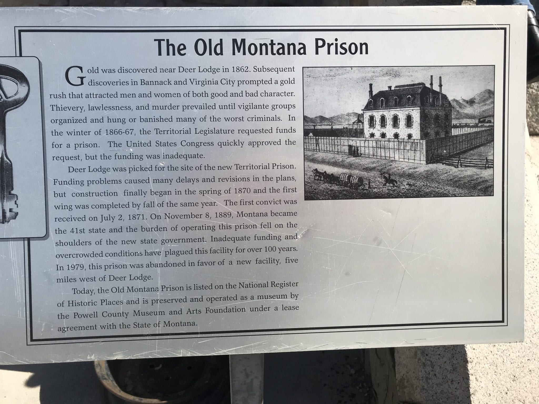 Old Montana State Prison Investigation Oct 2020